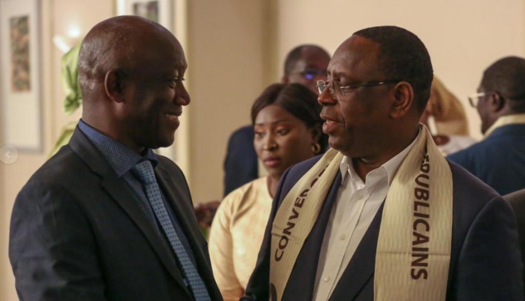 Coulisses du palais: Macky Sall reçoit Serigne Mbacké Ndiaye