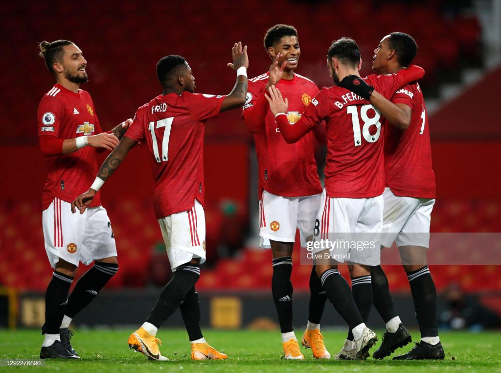 Premier League : Manchester United atomise Leeds United et se pose sur le podium