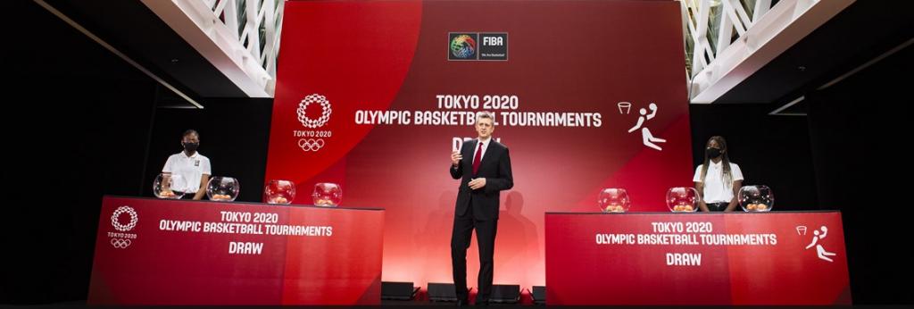 Tokyo 2020 (Basket) : Les groupes des Tournois olympiques connus