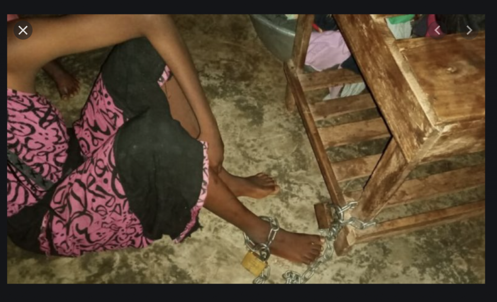 L'histoire de M.Souaré, 4 ans enchaînée et séquestrée par sa propre mère