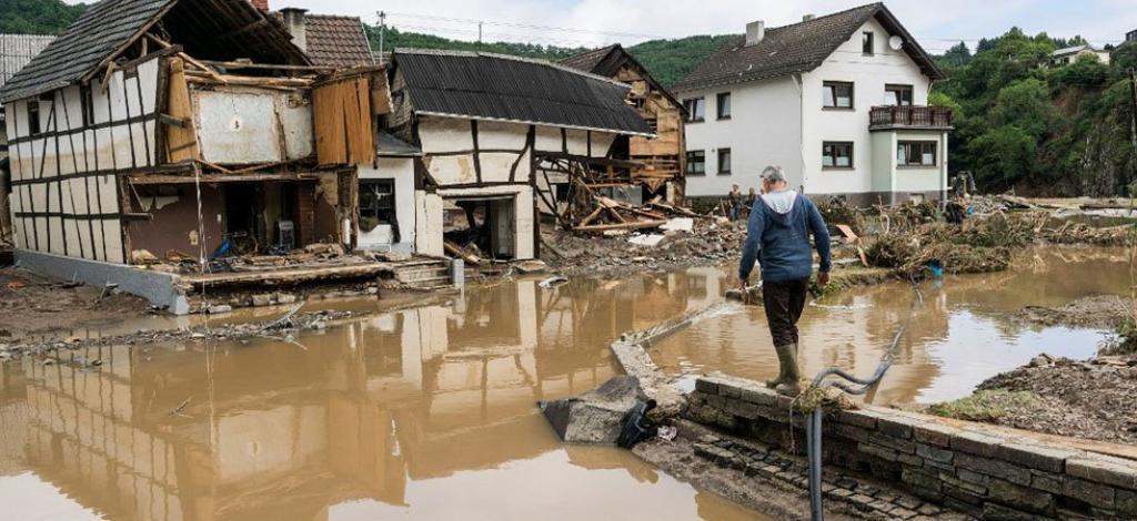Inondations en Allemagne : le bilan s\'alourdit à 165 morts